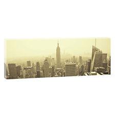 New York -Panoramabild auf  Leinwand Poster Wandbilder XXL 150 cm*50 cm 083