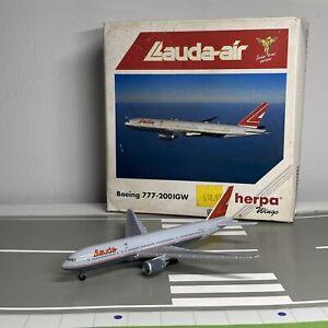 Herpa Wings 1:500 Lauda Air Boeing 777-200 IGW Diecast Model Airliner
