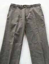 Banana Republic Mens Wool Blend Heritage Gray Dress Pants Tag 33x32 Actual 34x30