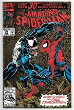 AMAZING SPIDER-MAN #375 (3/93 Marvel) NM (9.4) VENOM! ANN WEYING! HOLO-GRAFIX