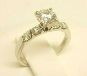 HEARTS ON FIRE 18K White Gold .40 ct tw Radiant Diamond Engagement Ring Setting