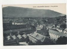 Chambery Vue Generale Vintage Postcard France 060a