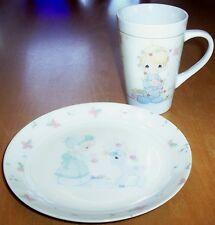 Precious Moments Plate + Mug Set