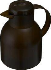 Emsa Samba Vacuum Flask 33.8oz Braun Thermos Bottle Coffeepot Quick Press