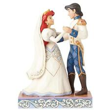 Disney Traditions 4056749 Wedding Bliss Ariel & Prince Eric Figurine
