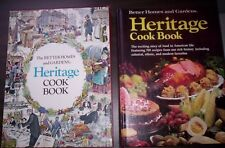 BETTER HOMES AND GARDENS HERITAGE COOK BOOK First Edition Seventh Printing MINT