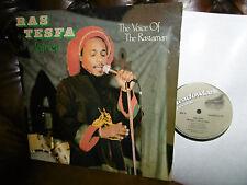 "Ras Tesfa Jafrica, The Voice of the Rastaman, REGGAE Meadowlark 401 LP, 12"" 1985"
