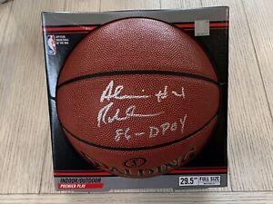 Alvin Robertson autographed signed basketball NBA Spurs/Bucks PSA w/ COA