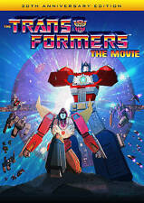 Transformers:The Movie 20th Anniversary DVD (1986) Used-FREE EXPEDITED SHIPPING