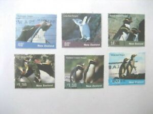 Neuseeland Gebraucht SET-2001 Pinguine Sg 2452/7