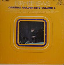 JERRY LEE LEWIS - ORIGINAL GOLDEN HITS VOLUMEN 2 - SUN 103 STEREO LP (X430)