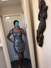 next signature dress Sequins Size 8 Gorgeous Mermaid Style Bodycon Dress