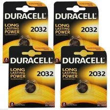 2 X Duracell CR2032 3V Lithium Button Battery Coin Cell DL/CR 2032 -