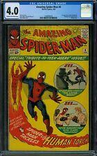 Amazing Spider-Man 8 CGC 4.0
