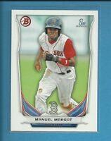 Manuel Margot RC 2014 1st Bowman Prospects Rookie Card # BP90 San Diego Padres