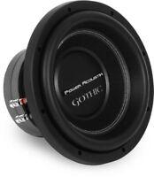 "NEW Power Acoustik Gothic GW3-10 2000 Watts 10"" Dual 2 Ohm Car Audio Subwoofer"