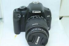 Canon EOS 450D 12.2MP Digital SLR Camera - Black (Kit 18-55mmSTM)