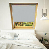 Blackout Thermal Skylight Roller Roofblind for ALL Keylite Windows  - 9 colours!