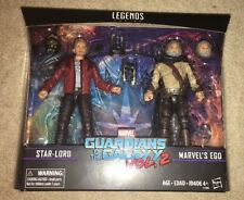 STAR-LORD & EGO 2-Pack Marvel Legends Guardians of the Galaxy Vol. 2 EE GOTG