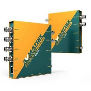 AVMATRIX MV0430 3G-SDI SDI distribution Quad Spilt Multiviewer SDI & HDMI output