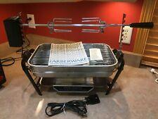 Vintage Farberware Indoor Open Hearth Grill Broiler-Rotisserie Model 455Nd