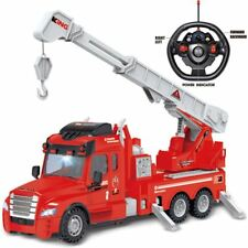 Rexco Large Radio Remote Controlled Rc Fire Engine Truck Childrens Toy Car Gift