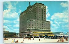 Ritz Carlton Boardwalk Atlantic City NJ Beach to Bronx NY Vintage Postcard C94