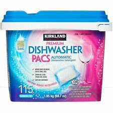 115 Kirkland Signature Premium Lave-vaisselle PACS automatique Détergent pour la...