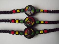 18 Rasta Ceramic Beaded Friendship Bracelets. Handmade in Peru
