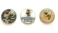 Georgia Tech Yellowjackets inspired Set of 3 Magnets