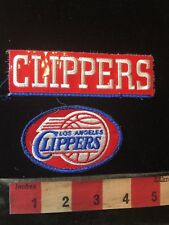Used Los Angeles Clippers California Patch Lot - Top One Is Damaged S78G