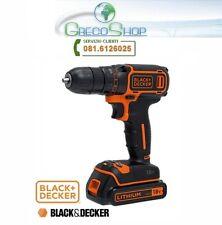 Trapano avvitatore a batteria 18V Litio Black&Decker - BDCDC18