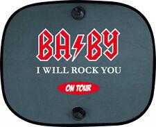 Baby I will rock you on tour niños protección solar coche