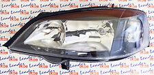 Vauxhall ASTRA G Mk4 - HEADLIGHT HEAD LIGHT LENS LAMP - (Black Style) LHS - NEW