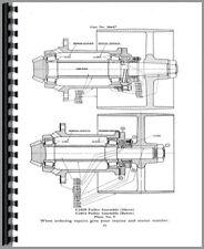 Parts Manual Allis Chalmers Uo Un U Tractor