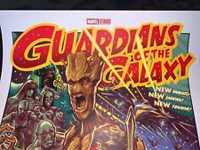 MONDO Artist ROCKIN JELLY BEAN Guardians Of The Galaxy Print From BNG