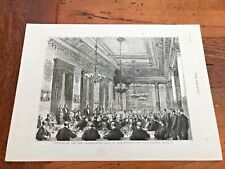 More details for 1876 large print from the graphic . opening of the conservative club manchester