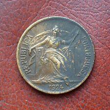 Portugal 1924 aluminium-bronze escudo