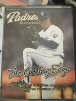 Signed Padres May 2007 Magazine Greg Maddux HOF Cy Young Cubs Braves