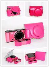 pink leather case bag for CASIO EX- ZR3600 ZR3500 ZR2000 ZR1600 ZR3000 camera