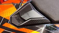 KTM 690 SMC SMCR Fuel Gas Cap Sticker Decal Guards CARBON LOOK FULL SET