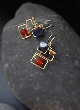 HANDMADE! Lapis Lazuli Gemstone Earrings 10125