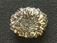 Chanel CC gold metal 30mm jacket jewel huge button
