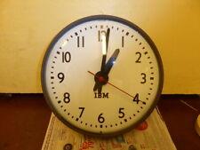 ANCIENNE HORLOGE IBM DE GARE/PENDULE INDUSTRIELLE/OLD INDUSTRIAL CLOCK/USINE