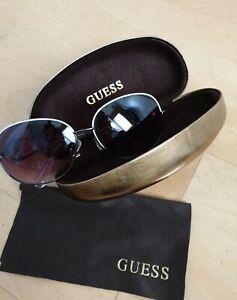 Sonnenbrille Guess Grau Rosa Pilotenbrille