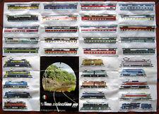 Lima Selection H0 HO Catalogo Depliant fascicolo brochure treno vagoni