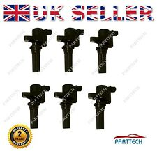 6X JAGUAR S-TYPE 1999-2007 3.0 V6 PENCIL IGNITION COIL PACK FULL SET - BRAND NEW