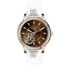 Rotary LS90515/16/L3R Señoras Les Originales Reloj Suizo Esqueleto parcial RRP £ 575