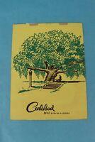 VINTAGE 1947 CARLSBAD HOTEL SOUVENIR RESTAURANT DINNER MENU, CALIFORNIA