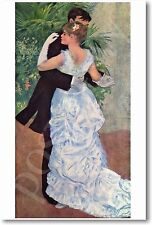 Dance in the City 1883 - August Pierre Renoir - NEW French Art Print POSTER